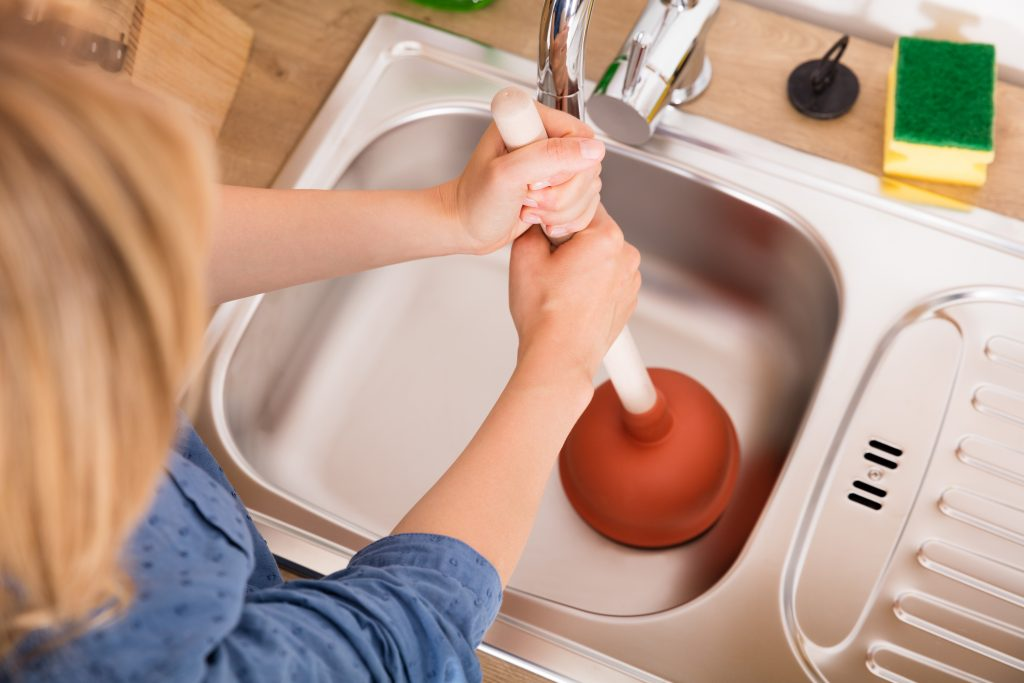 What to do if your drain is blocked.